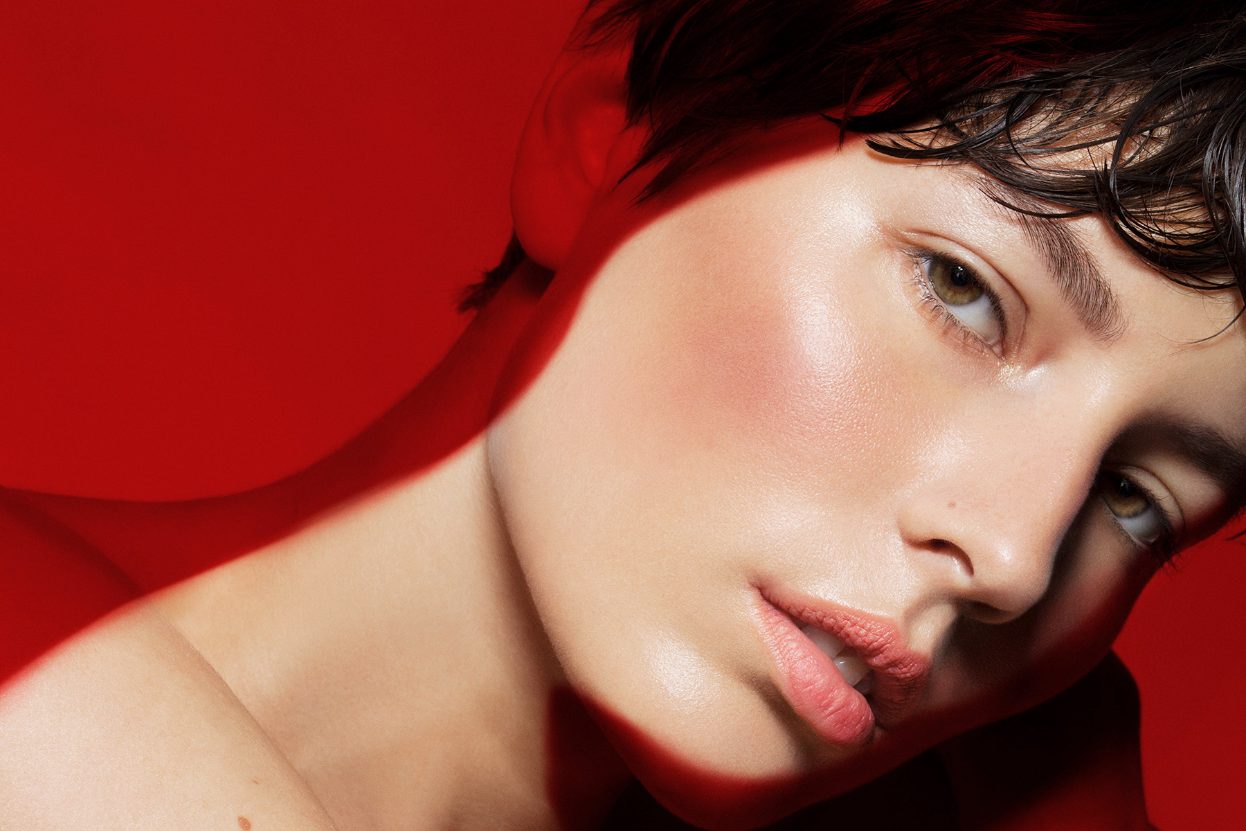Olivier Rose . make-up I